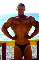 Fitness Challenge Bodybuilding Competition Finalist Peter Larson!