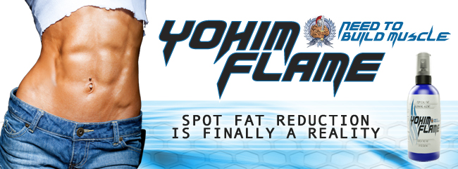 YohimFlame Topical Thermogenic Targeted Fat-Burning Spray