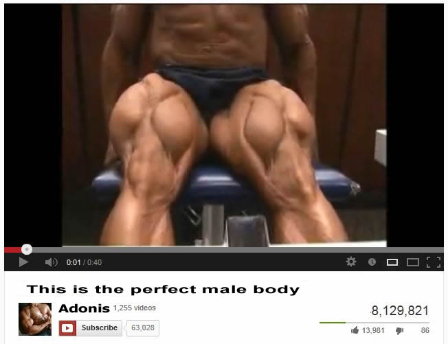 This is the perfect male body according to Men's Health [must see video]
