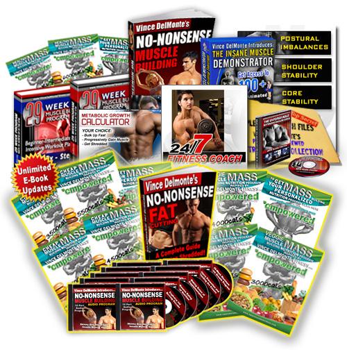 Vince Del Monte s No Nonsense Muscle Building 2.0 Review