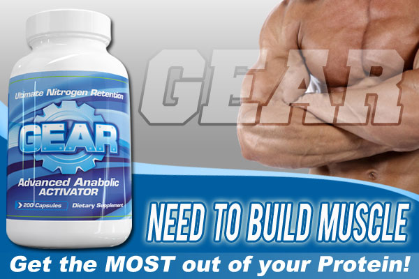Gear from NeedtoBuildMuscle.com – Advanced Protein Delivery System & Nutrition Octane Booster