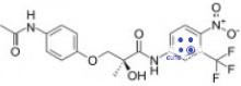 estructura química de andarine s4