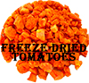 Freeze dried tomatoes