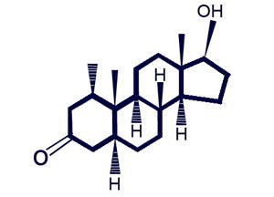 Proviron Molecule