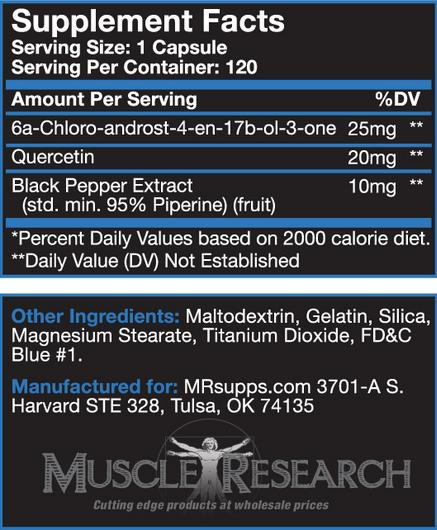 6-MDROL Ingredients