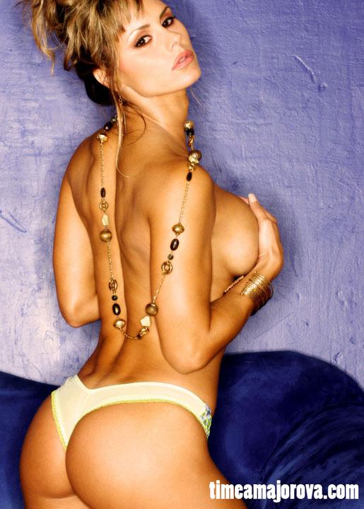 Shy undressed girlfriend voyeur