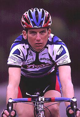 American cyclists Tyler Hamilton