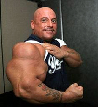 Biggest FBB in the World http://bodybuilding.elitefitness.com/greg-valentino-biggest-biceps