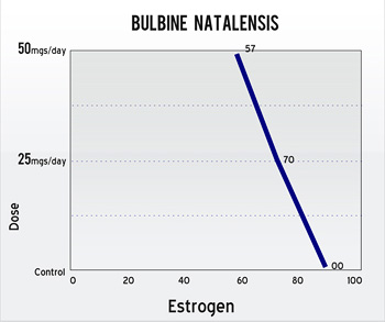 Bulbine Natalensis Estrogen Decrease