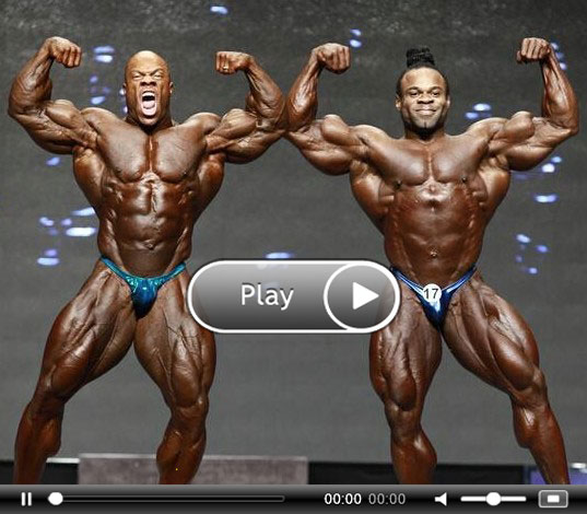 Phil Heath  amp Kai Greene in Kai Greene Life Story
