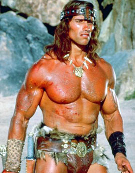 Top Muscle Movie Conan the Barbarian