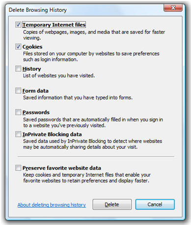 New Internet Explorer 8 Security - 109.9KB