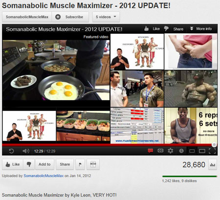 Watch the video for Somanabolic Muscle Maximizer.