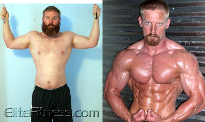 The Testosterone Cyclone Steroid Cycle with FREAKY Before